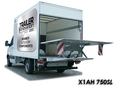 Tail-lift with scissor platform - Sörensen - Die Ladebordwand-Profis